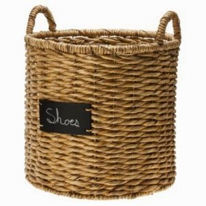 Target Basket with Chalkboard Label