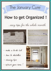 The January Cure // How to Get Organized for a New Year