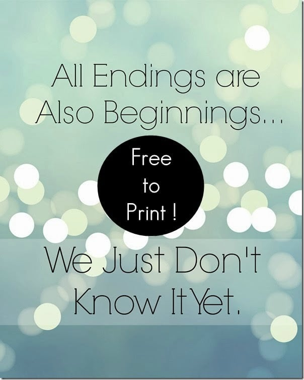 FREE Inspirational Printable Art Print! Print off and frame for your office or gallery wall for instant home decor!