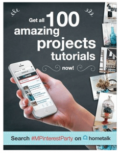 100 Pinterest Inspired DIY and Craft Projects #diy #mpinterestparty