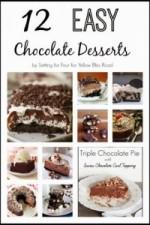 Delicious Chocolate Dessert Recipes