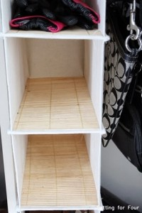 Closet Storage Tips #organization #storage