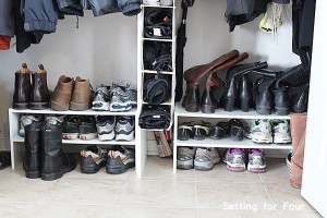 Closet storage and organization ideas #storage #organization