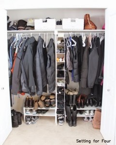Easy Closet Storage and Organization Ideas for under $75 ! #storage #organization