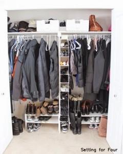 Easy Closet Storage and Organization Ideas for under $75 ! #storage #organization