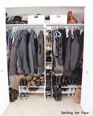 Easy Closet Storage And Organization Ideas For Under $75 ! #storage # Organization