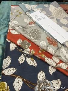 Floral fabrics Robert Allen