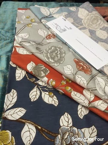 New Fabric Collection From Robert Allen Setting For Four