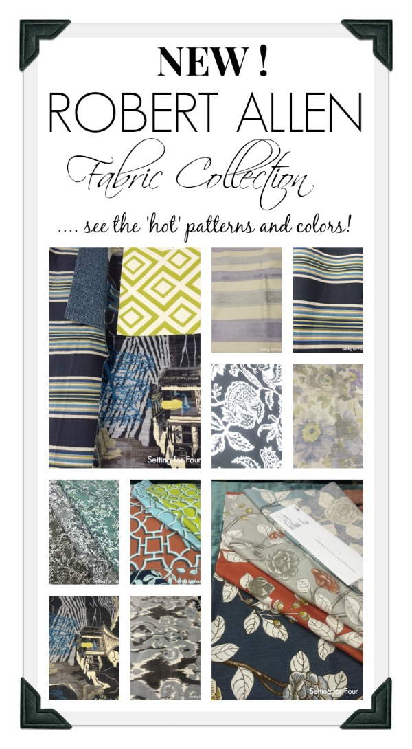 New Robert Allen Fabric Collection - see all the beautiful color and patterns from this designer fabric line!