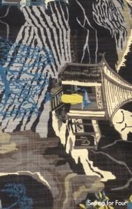 Oriental Print Robert Allen Fabric