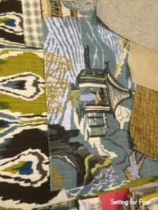 Robert Allen fabric coordinating colors and prints