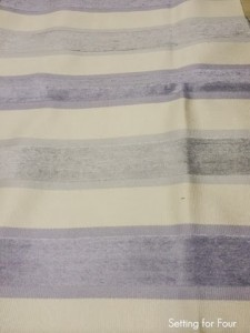 Velvet stripe fabric Robert Allen