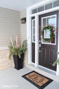 Winter Entryway Decor Ideas