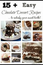 15 Plus Easy Chocolate Dessert Recipes