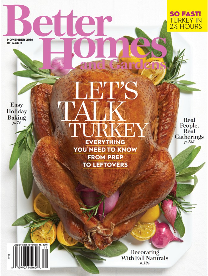 I'm featured in Better Homes and Gardens Magazine!
