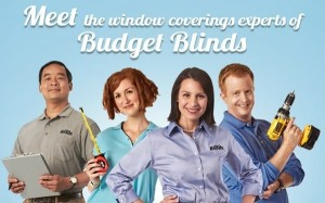 Update your window coverings with Budget Blinds