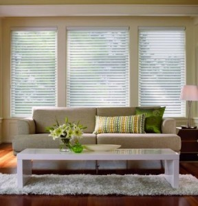 Sheer shade window treatments