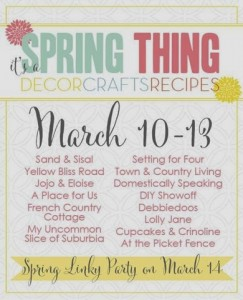 Spring Decor, Crafts, DIY Tutorials and Recipes
