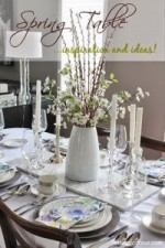 5 Beautiful Spring Table Decor Ideas