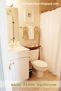 My Space: Main Floor Bathroom