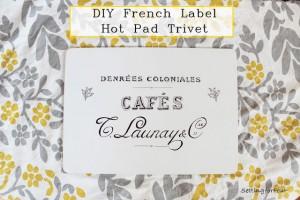 DIY Trivet Potholder For Your Kitchen