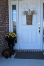 Fall Outdoor Porch and Door Decor