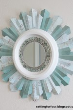 DIY Beaded Sunburst Mirror Tutorial