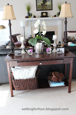 How To Style A Sofa Table And Define Your Living Room