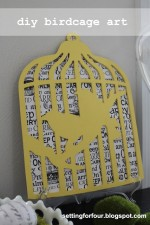 Easy DIY Birdcage Art Tutorial