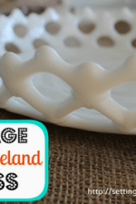 Vintage Westmooreland Milk Glass