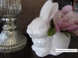 Easy DIY Pottery Barn Inspired Rabbit