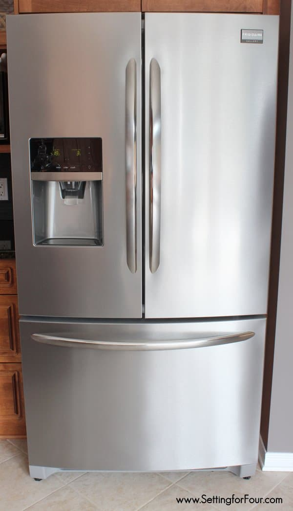 Smudge Free Stainless Steel Kitchen Appliances