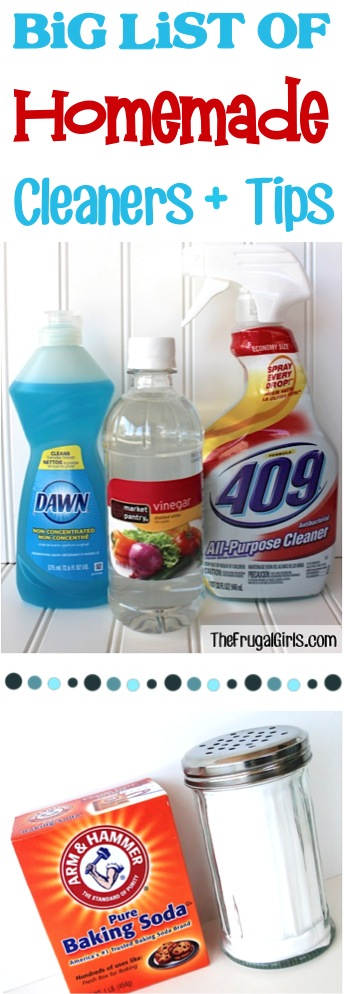 Same money with these DIY Homemade Cleaners and Tips! You'll find everything you need to clean and freshen up your home!