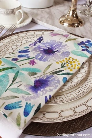 Spring table setting ideas!