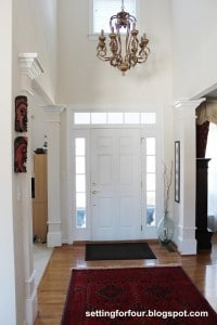 My Space: The Foyer