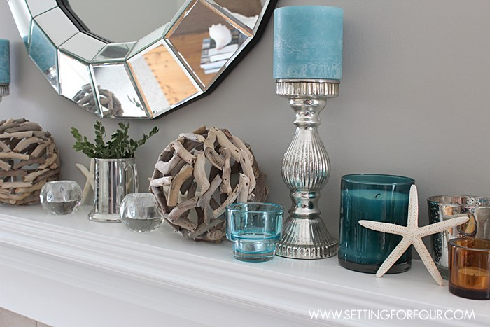 Coastal Mantel Decor Tips