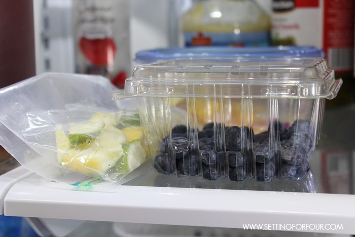 Entertaining Tip # 8 - Before guests arrive, peel and cut fruit for drinks and desserts then refrigerate in sealed bags! See all 12 Helpful Entertaining tips!