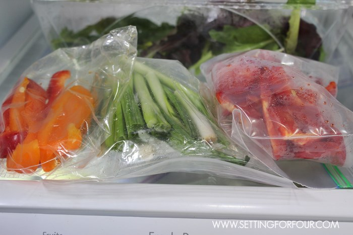Entertaining Tip #7: Peel, cut and store in sealed bags all vegetables for appetizers and side dishes. See all 12 Helpful Entertaining tips!