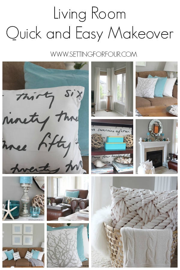 Living Room Makeover #QuickandEasy