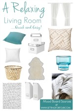 A Quick & Easy Living Room Makeover: The Plan & Mood Board