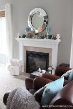 Summer Mantel Decor Ideas
