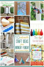 10 Adorable Craft Ideas | Monday Funday Link Party