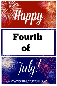Happy Independence Day | Patriotic Projects and Recipes!