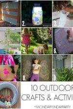 10 Outdoor Crafts and Activities For The Kids
