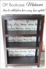 Quick DIY Bookcase Makeover
