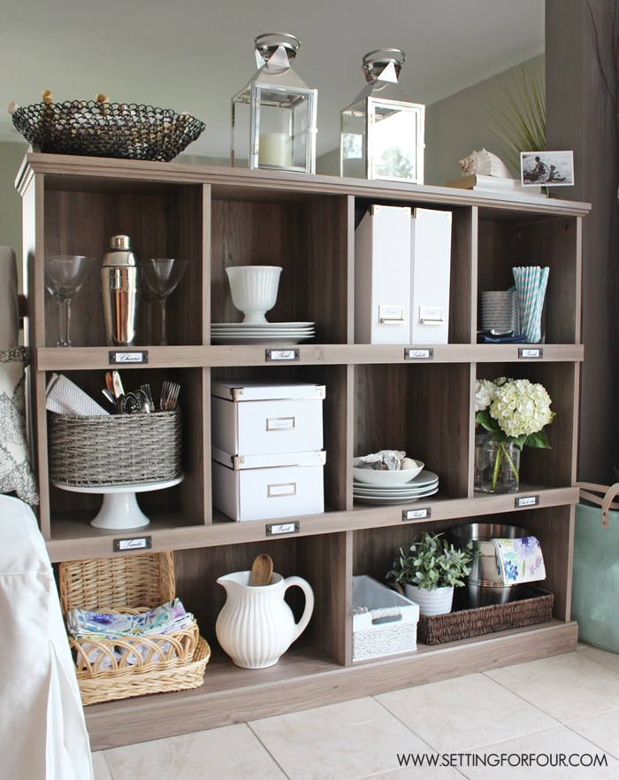 Delicieux Add Storage And Organization To Your Kitchen With A Bookcase! I Love The  Salt Oak