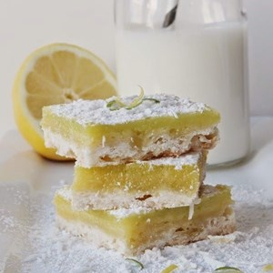 Lemon Lime Bars with Coconut Topping