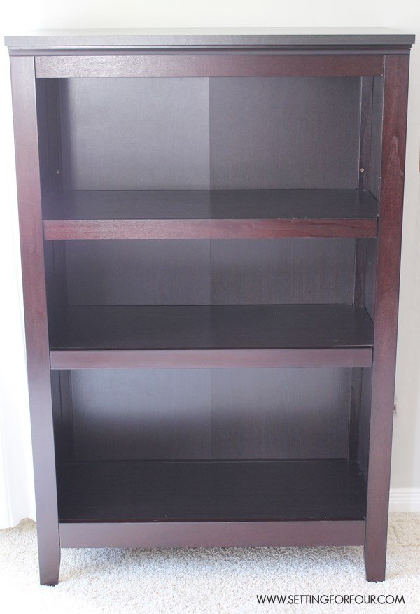 How to Makevoer a Target Bookshelf - so easy!