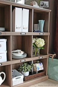 A Kitchen Storage and Display Bookcase