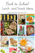 10 Super COOL Kids Lunch and Snack Ideas - No more boring lunches! See these fun Back To School recipes for Moms.